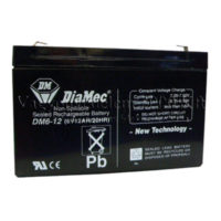 riasztóbolt, riasztobolt, DIAMEC 6V 12Ah akkumulátor