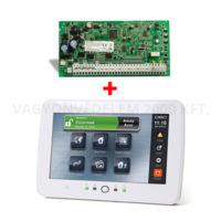riasztóbolt, riasztobolt, DSC PC1616 központ + DSC PTK5507 érintőképernyős kezelő