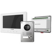 riasztóbolt, riasztobolt, Hikvision DS-KIS701-W-D IP kaputelefon szett