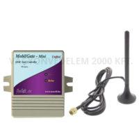 riasztóbolt, riasztobolt, MobilGate-Mini-a GSM kapunyitó modul