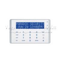 riasztóbolt, riasztobolt, PARADOX K656 Érintőgombos 32 karakteres kék LCD kezelő